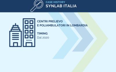 Case History: Synlab, centri prelievo e poliambulatori