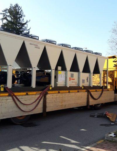 sostituzione Chiller Starhotels Saronno